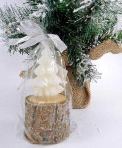 candela a forma di albero di natale grande