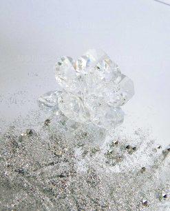 fiore calamita in cristallo swarovski