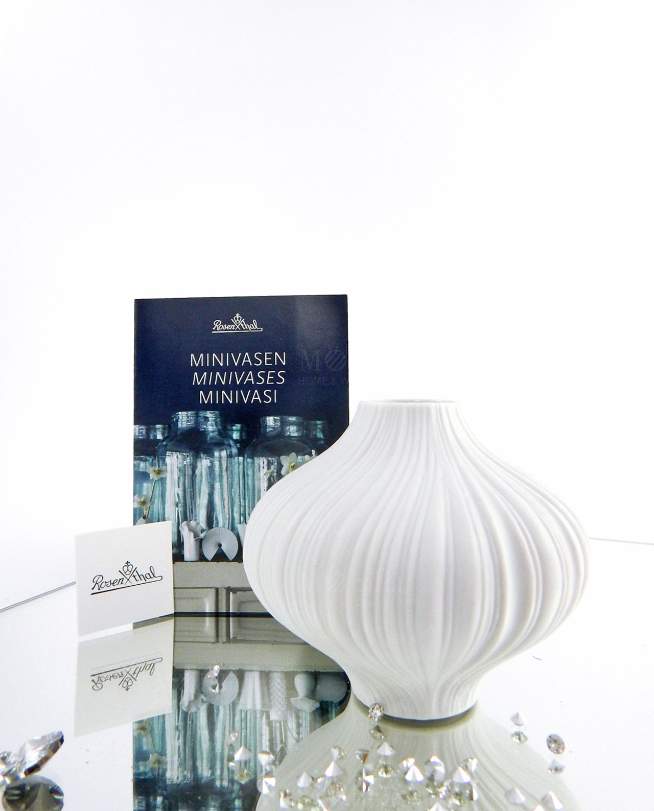 Bomboniera natalizia minivaso di design plisee rosenthal for Vaso fast rosenthal
