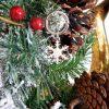 portachiavi fiocco di neve in argento smaltato tabor