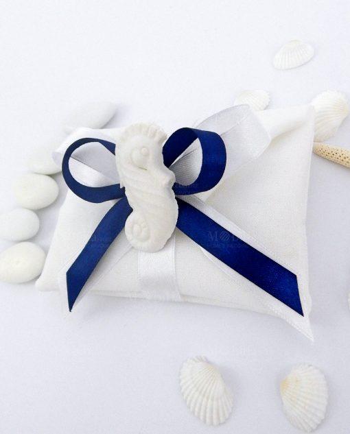 saccchetto confezionato con gessetto profumato cavalluccio marino