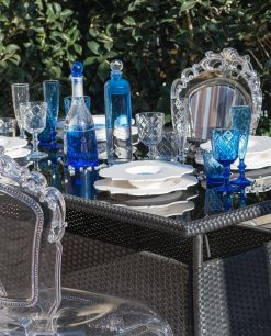 sedie in policarbonato trasparente baci milano