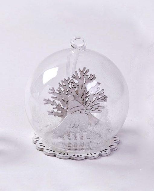 sfera in vetro piccola