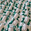 bomboniera artigianale di caltagirone teste di moro dettagli verdi