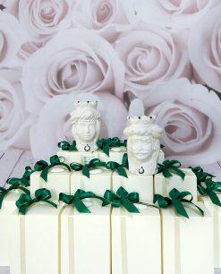 bomboniere artigianali teste di moro con turbante e corona
