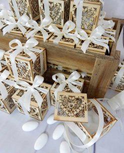 bomboniere scatoline cuore con confetti