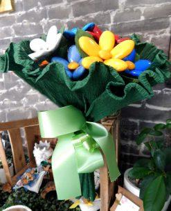 bouquet di fiori di confetti colorati di sulmona