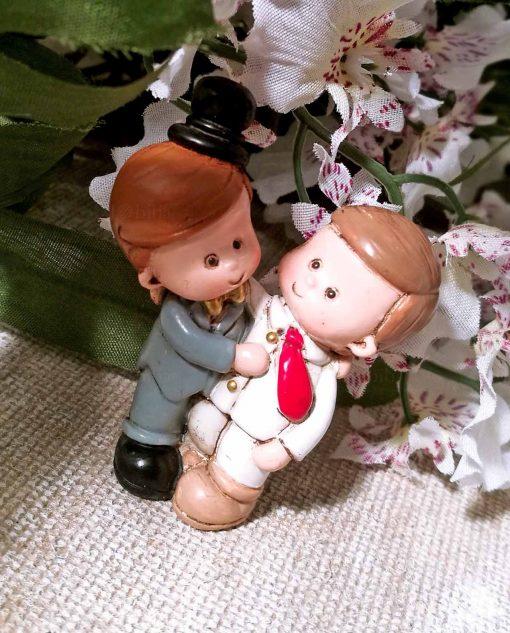 calamita sposi uomini per bomboniere fai da te