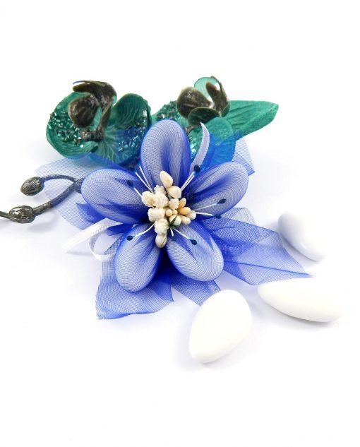confetti di sulmona nuvoletta blu per bomboniere