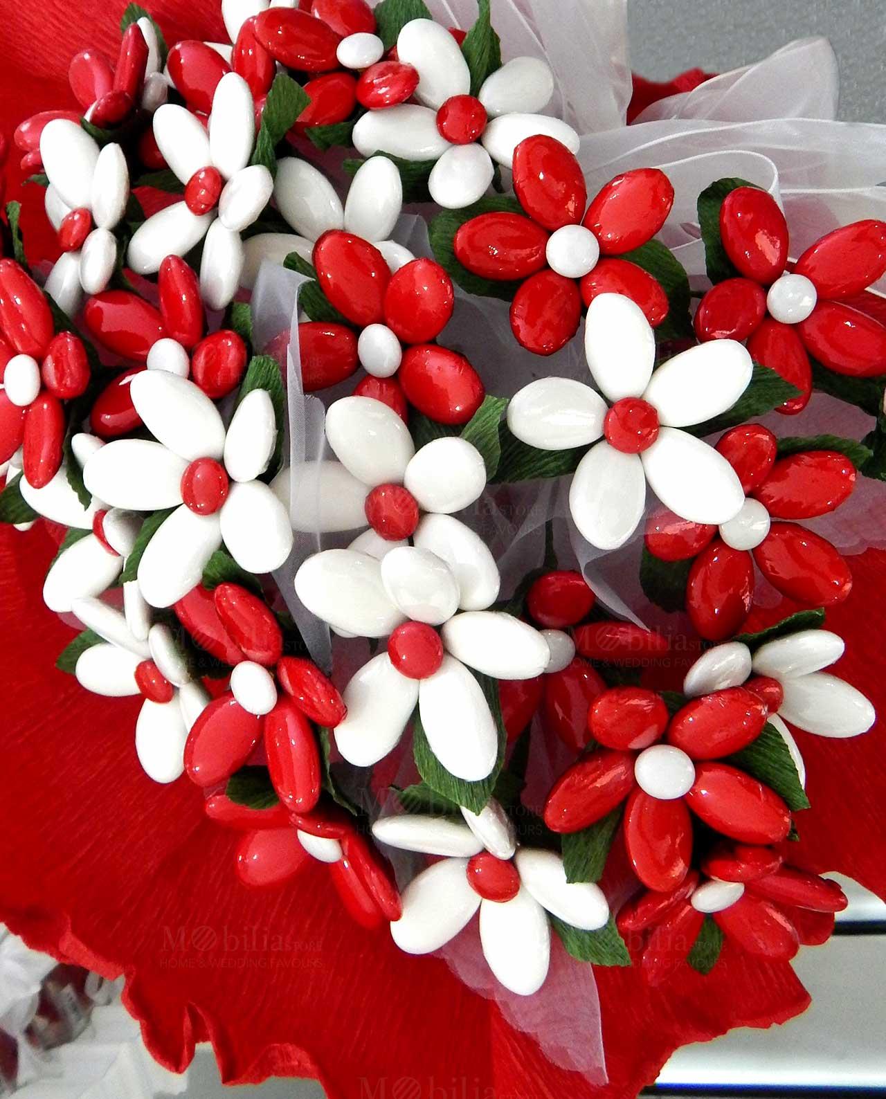Bouquet fiori di confetti artigianali di Sulmona - Mobilia ...