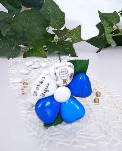 fiore di confetti di sulmona personalizzato