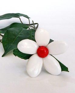 margherita di confetti bianchi di sulmona
