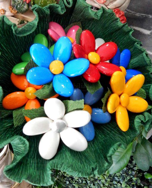 mazzo di fiori di confetti sulmona per allestimenti