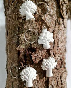 portachiavi albero della vita in resina