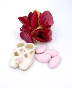 scarpette da ballo in porcellana per bomboniere