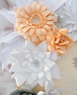 tableau mariage con fiori personalizzato