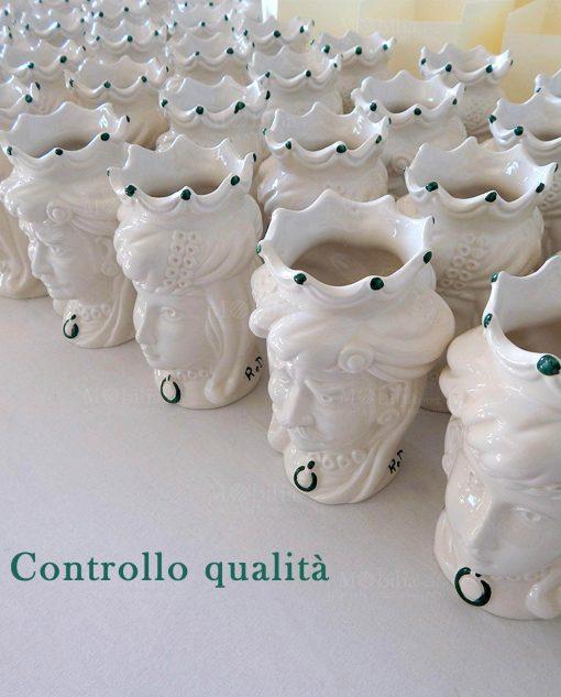 teste di moro ceramica artigianale di caltagirone