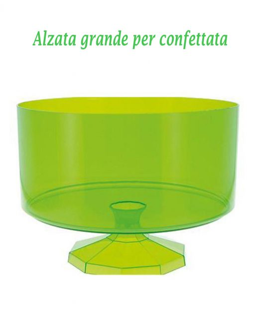 contenitore per confeffata grande verde