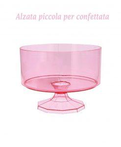 contenitore per confeffata piccolo rosa