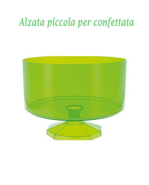contenitore per confeffata piccolo verde