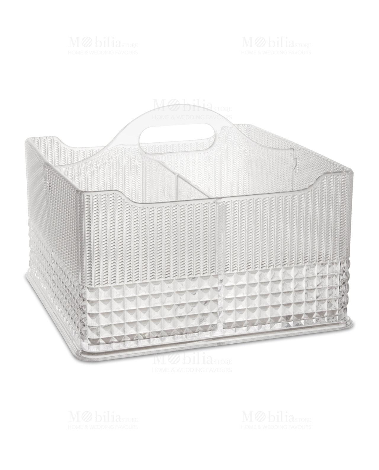 Porta utensili da cucina trasparente chic e zen - kitchen Baci Milano