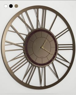 Orologio da parete modello big lux colore bronzo arti e mestieri