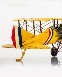 aereoplano decorativo in metallo