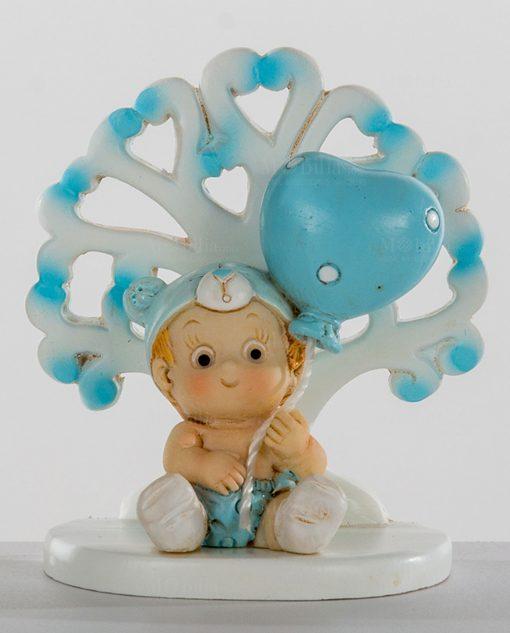 albero della vita con bimbo e palloncino