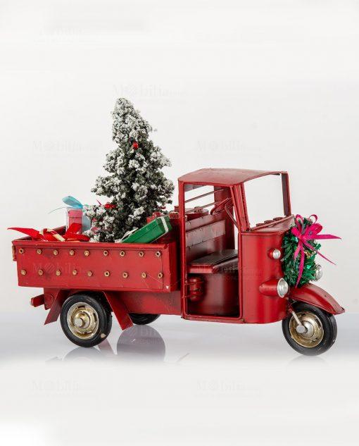 ape macchina soprammobile natalizia