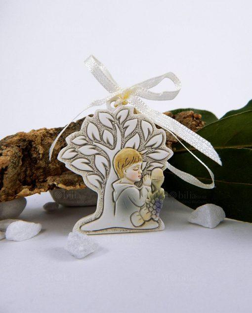 appendino albero della vita con bambino che prega