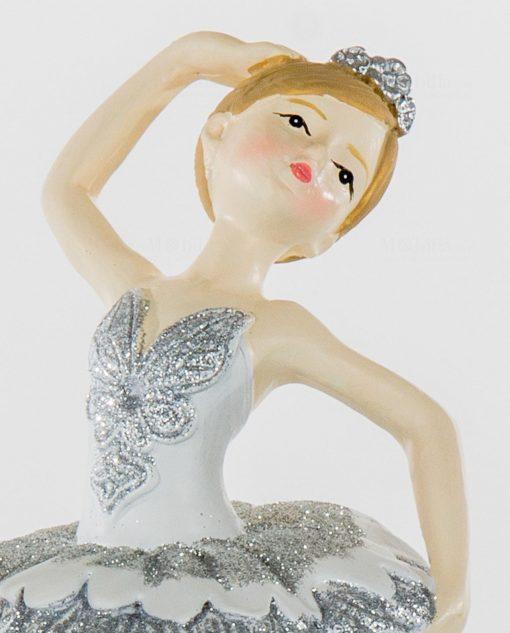ballerina vestito argentato