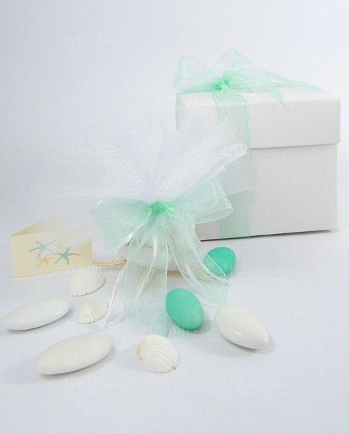 bomboniera scatola cartoncino ad emozioni confezionata