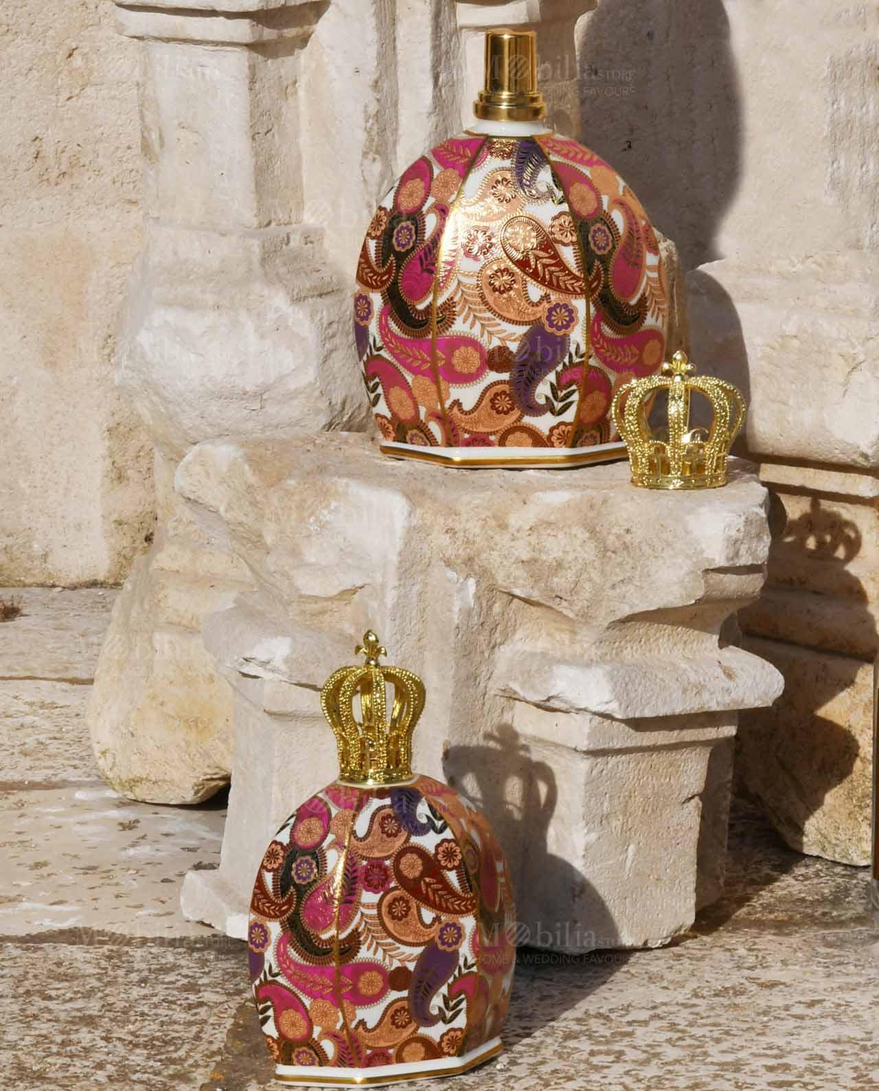Bottiglia victoria royal family queen baci milano for Oggettistica casa milano