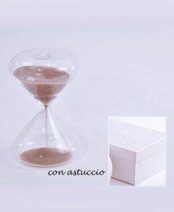 clessidra con sabbia tortora