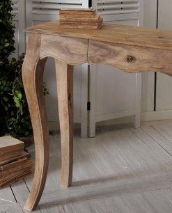 consolle legno masngo massello