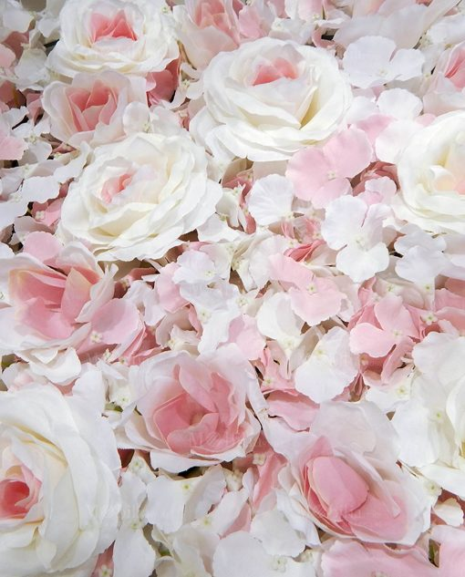 dettaglio pannello ortensie rose rosa