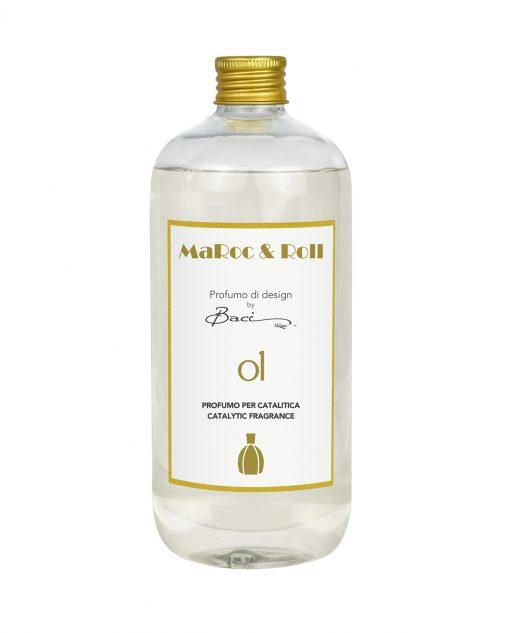 fragranza per catalitica famiglia olfattiva orientale speziato 500 ml baci milano