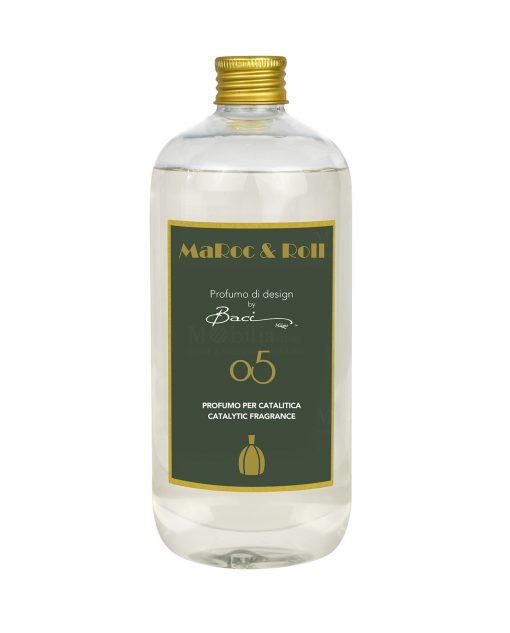 fragranza per diffusori catalitici famiglia olfattiva legnosa 500 ml baci milano