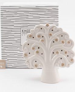 lampada albero della vita grande bianca e tortora