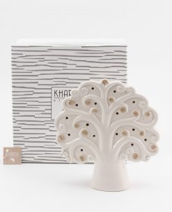 lampada albero della vita piccola bianca e tortora