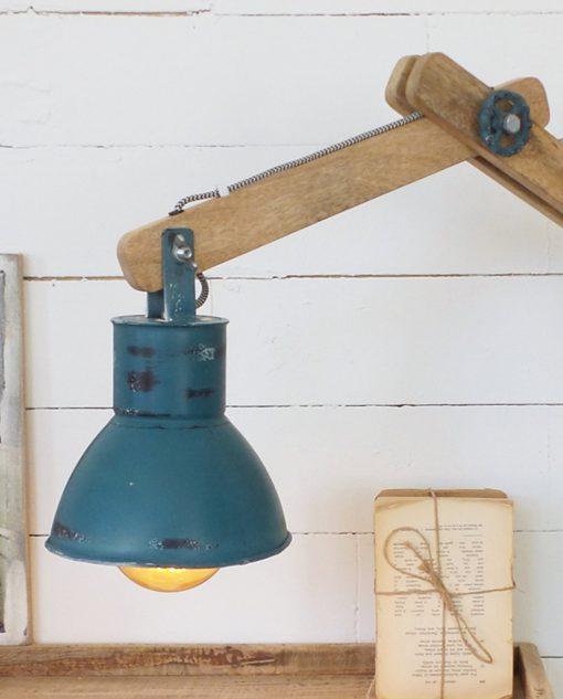 lampada da parete moderna legno e metallo
