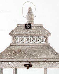 lanterna da appendere legno anticato