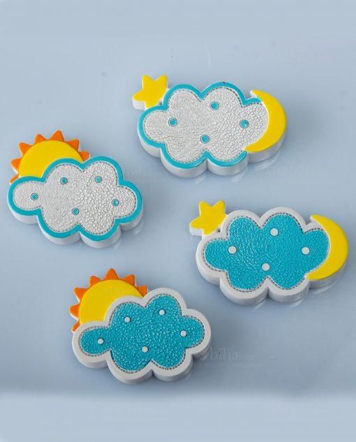 magnete azzurro nuvoletta