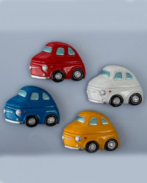 magnete macchinina 4 colori assortiti