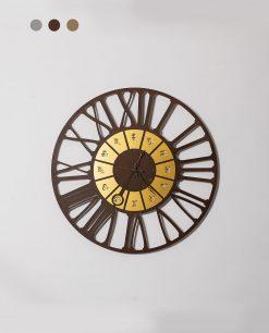 orologio d aparete modello zodiac piccolo colore oro e cortene arti e mestieri