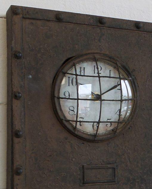 orologio da parete a pannello