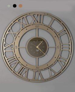 orologio da parete modello Koros 90 colore bronzo arti e mestieri