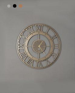 orologio da parete modello koros 50 colore bronzo arti e mestieri