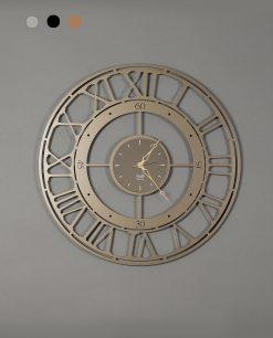 orologio da parete modello koros 70 colore bronzo arti e mestieri