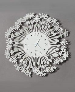 orologio da parete modello soffione piccolo colore avorio arti e mestieri